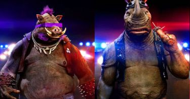 Bebop and Rocksteady TMNT 2 Posters