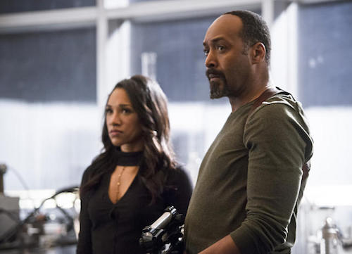 Candice Patton Jesse L. Martin Versus Zoom The Flash