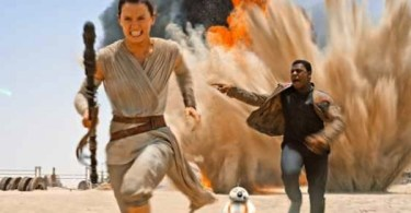 Daisy Ridley John Boyega Star Wars The Force Awakens