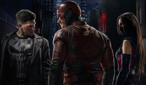 Daredevil Costumed Vigilantes Poster