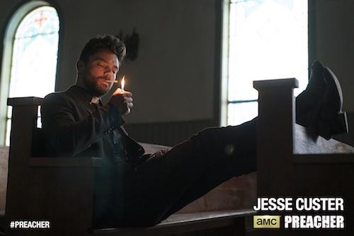 Dominic Cooper Jesse Custer Preacher