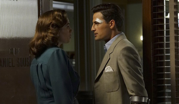 Hayley Atwell Enver Gjokaj Agent Carter The Edge of Mystery