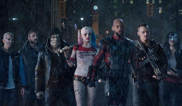 Jay Hernandez Joel Courtney Adelwale Akinnuoye-Agbaje Margot Robbie Will Smith Joel Kinnaman Karen Fukuhara Suicide Squad