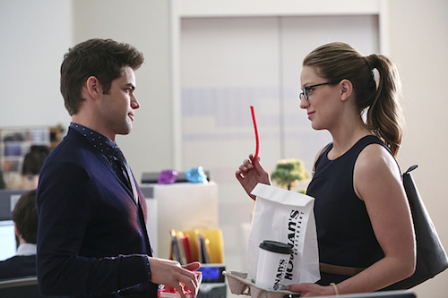 Jeremy Jordan Melissa Benoist Better Angels Supergirl