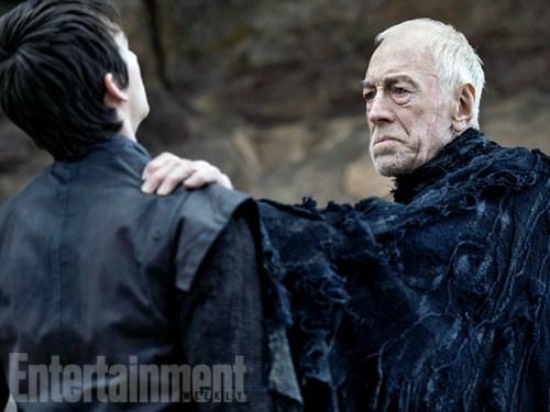 Max von Sydow Isaac Hempstead-Wright Game of Thrones Season 6