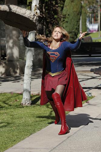 Melissa Benoist World's Finest Supergirl