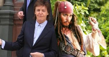 Paul McCartney Johnny Depp
