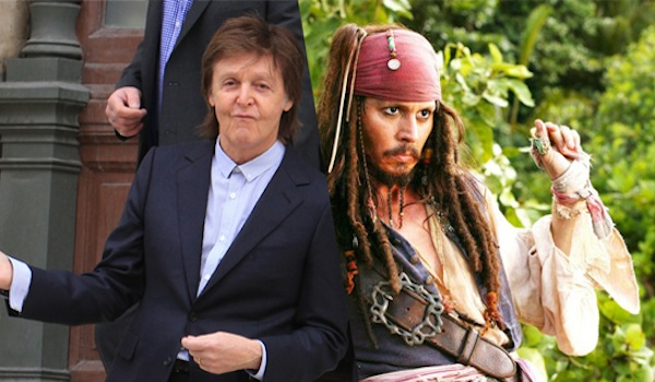 Paul McCartney Johnny Depp