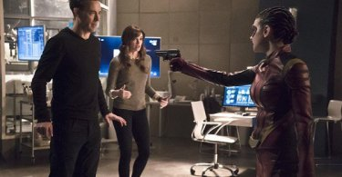 Tom Cavanagh Danielle Panabaker Allison Paige Trajectory The Flash