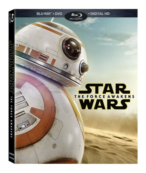 Walmart Star Wars The Force Awakens Blu-ray Cover