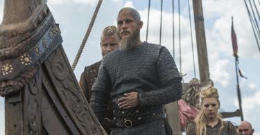 Alexander Ludwig Travis Fimmel Katheryn Winnick Vikings Death All 'Round