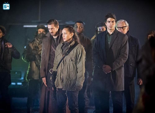 Arthur Darvill Sharon Taylor Franz Drameh Brandon Routh Victor Garber Leviathan Legends of Tomorrow