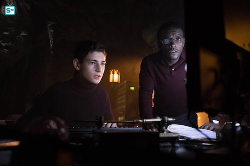 David Mazouz Chris Chalk Pinewood Gotham