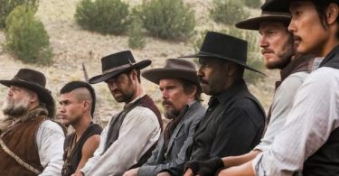 Denzel Washington Chris Pratt Ethan Hawke Vincent D'Onofrio Byung-Hun Lee Manuel Garcia-Rulfo Martin Sensmeier The Magnificent Seven
