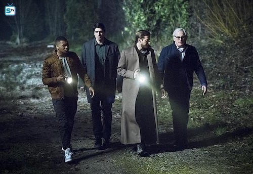 Franz Dramen Brandon Routh Arthur Darvill Victor Garber Leviathan Legends of Tomorrow