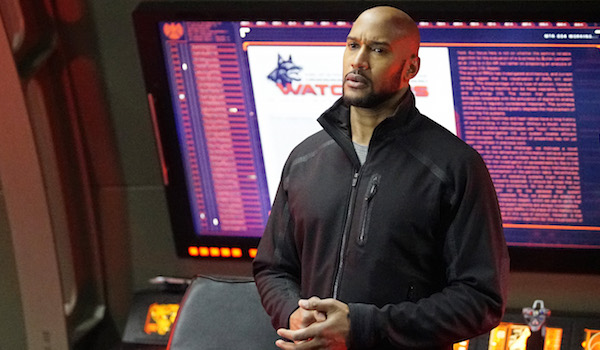 Henry Simmons Agents of SHIELD Watchdogs