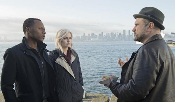 Malcolm Goodwin Rose McIver Enrico Colantoni Reflections of What Liv Used To Be iZombie