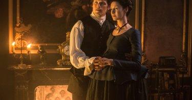Sam Heughan Caitriona Balfe Outlander Best Laid Schemes