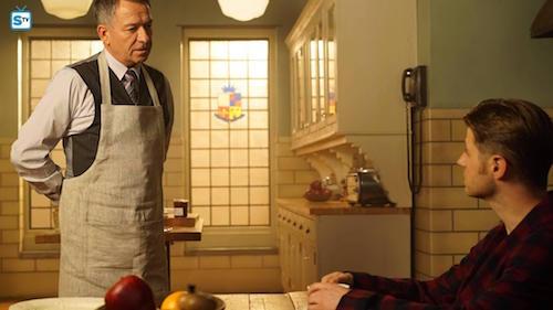 Sean Pertwee Ben McKenzie Into The Woods Gotham