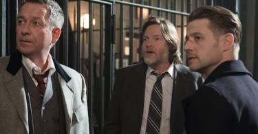 Sean Pertwee Donal Logue Ben McKenzie Gotham Pinewood