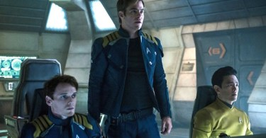 Anton Yelchin Chris Pine John Cho Star Trek Beyond