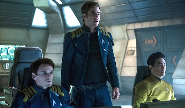 Anton Yelchin Chris Pine John Cho Star Trek Beyond