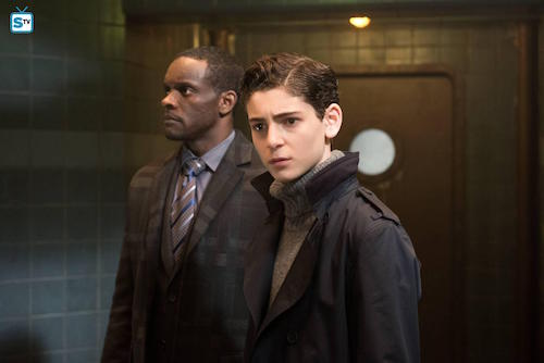 Chris Chalk David Mazouz A Legion of Horribles Gotham