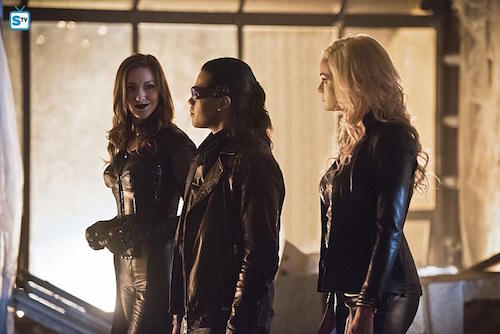 Katie Cassidy Carlos Valdes Danielle Panabaker Invincible The Flash