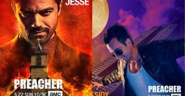 Dominic Cooper Joe Gilgun Preacher Posters