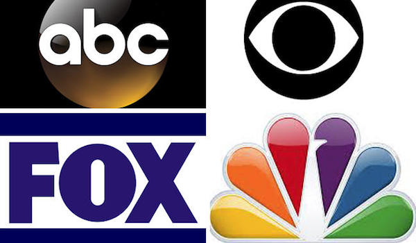 ABC CBS NBC Fox Logos