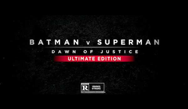 Batman v Superman Ultimate Edition Trailer