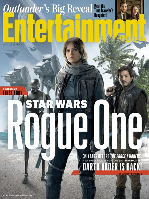 Entertainment Weekly Rogue One: A Star Wars Story July 1, 2016 Cover