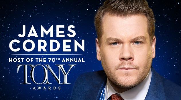 James Corden Tony Awards