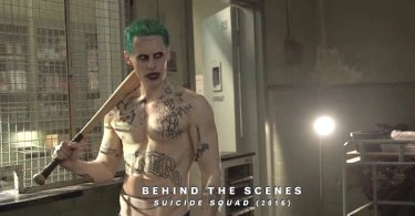 Jared Leto baseball Bat Shirtless Suicide Squad