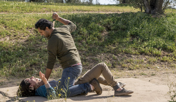 Lorenzo James Henrie Cliff Curtis Fear The Walking Dead Shiva