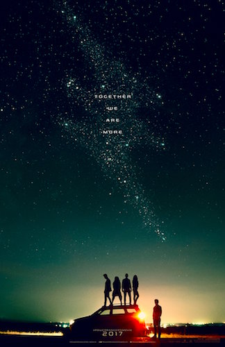 Power Rangers Teaser Poster