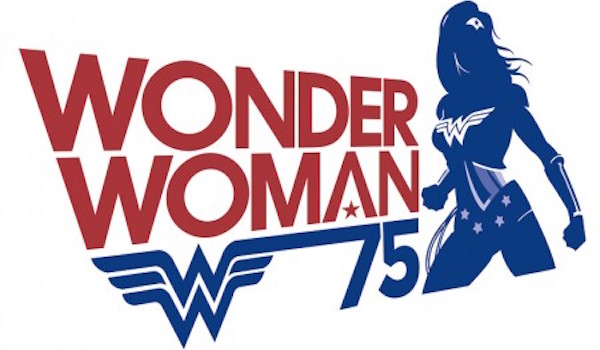 Wonder Woman 75th Anniversary Logo