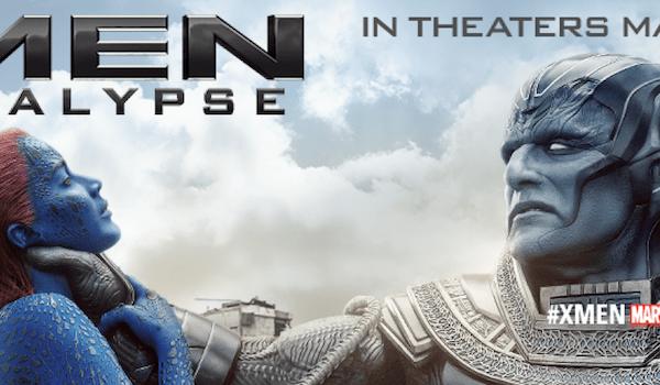 Jennifer Lawrence Oscar Isaac X-Men: Apocalypse Poster