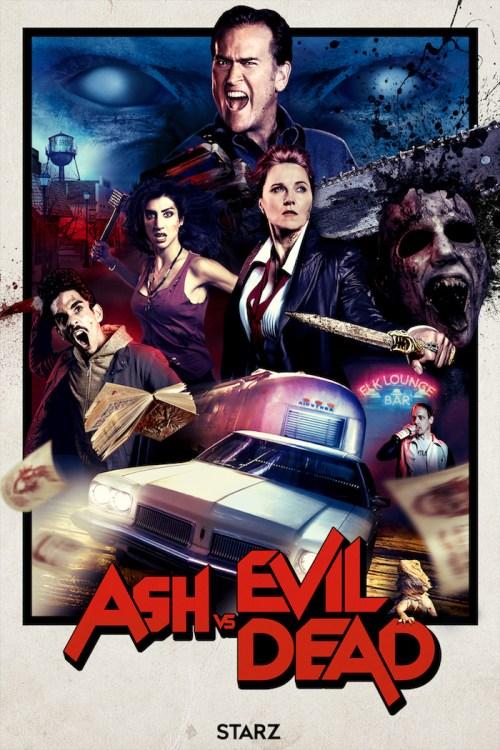 Ash vs Evil Dead Season 2 San Diego Comic Con TV Show Poster