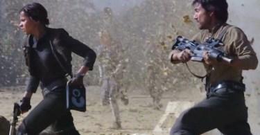 Felicity Jones Diego Luna Rogue One: A Star Wars Story Star Wars Celebration Reel
