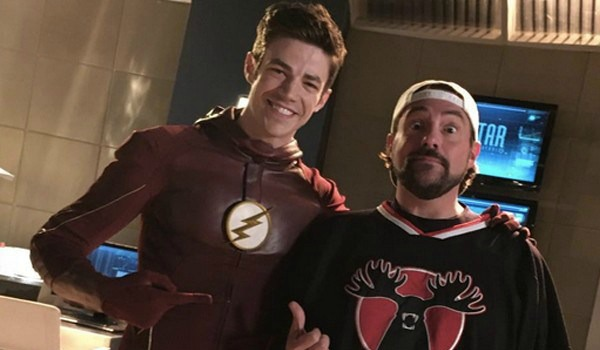 Grant Gustin Kevin Smith The Flash