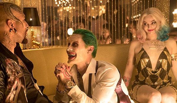 Jared Leto Margot Robbie Suicide Squad