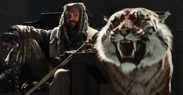 Khary Payton King Ezekiel Tiger The Walking Dead Season 7
