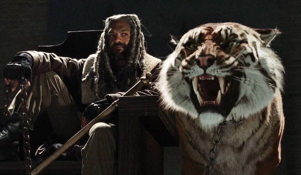 Khary Payton King Ezekiel Tiger The Walking Dead Season 7