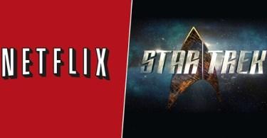 Netflix Star Trek Logo