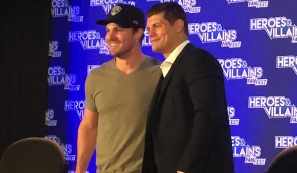 Stephen Amell Cody Rhodes Heroes and Villains Fan Fest