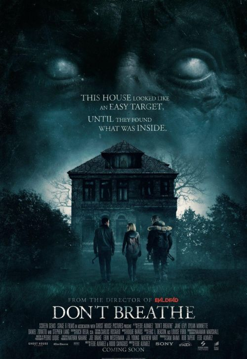 Don't Breathe Movie Poster 2