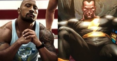 Dwayne Johnson Black Adam Comic