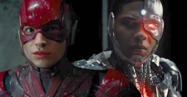 Ezra Miller The Flash Ray Fisher Cyborg