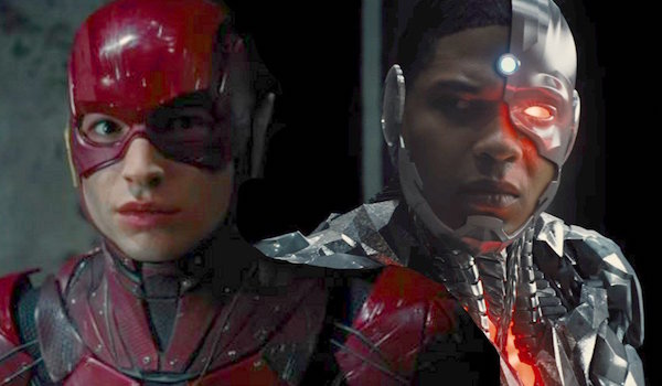Ezra Miller The Flash Ray Fisher Cyborg